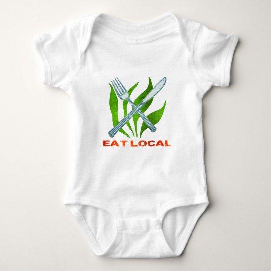 Eat Local Baby Bodysuit