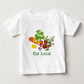 Eat Local Baby T-Shirt