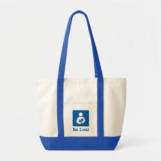 Eat Local Breastfeeding / Nursing Icon Bags