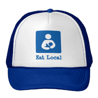 Eat Local Breastfeeding / Nursing Icon Trucker Hat