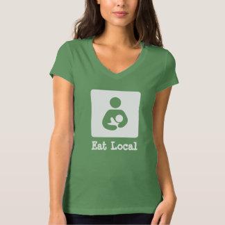 Eat Local Breastfeeding / Nursing Icon Tshirts