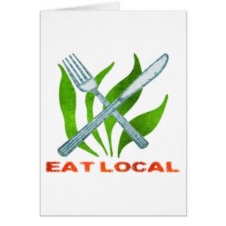 Eat Local Card