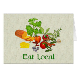 Eat Local Card