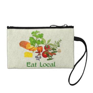Eat Local Change Purse