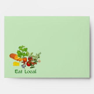 Eat Local Envelopes