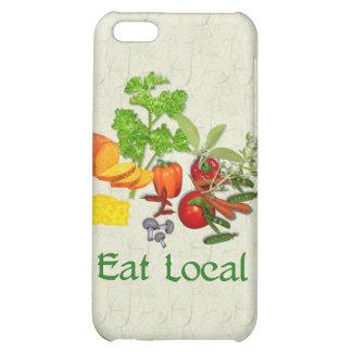 Eat Local iPhone 5C Cases