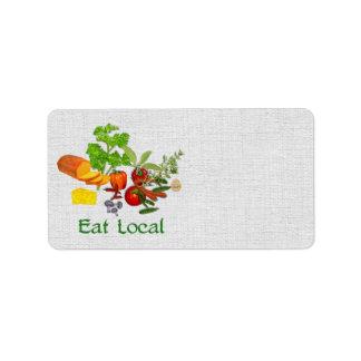 Eat Local Label