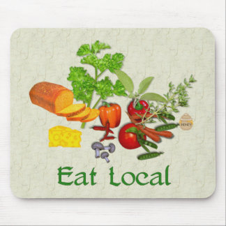 Eat Local Mouse Pad
