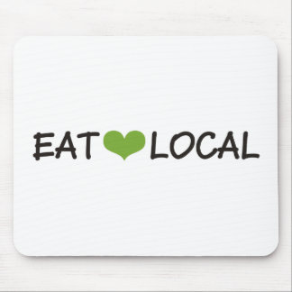 Eat Local Mouse Pads
