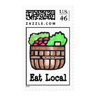 Eat Local Postage