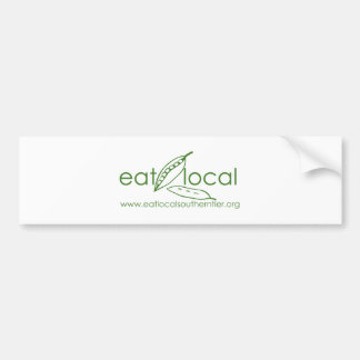 Eat Local Southern Tier Bumper Sticker