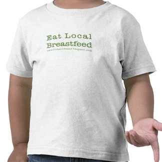 Eat Local Toddlers Shirt