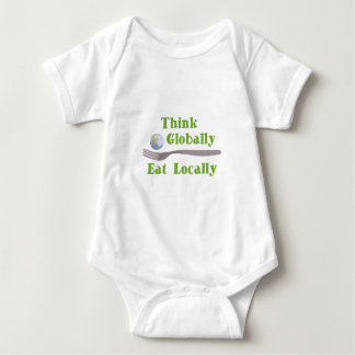 Eat Locally Baby Bodysuit