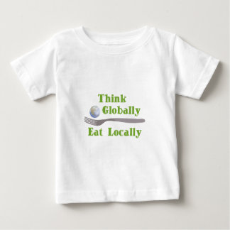 Eat Locally Baby T-Shirt
