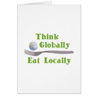 Eat Locally Card