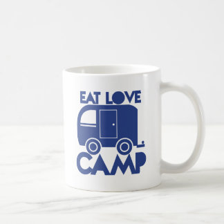 EAT LOVE CAMP COFFEE MUG