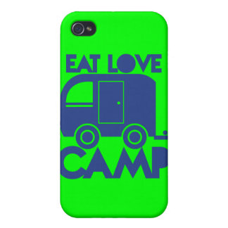 EAT LOVE CAMP iPhone 4/4S CASES