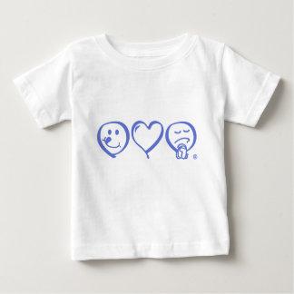 eat love pray Infant T-shirt  (blue logo)