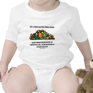 Eat Lower On The Food Chain (Vegetables) T Shirt