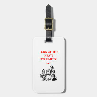 EAT LUGGAGE TAG