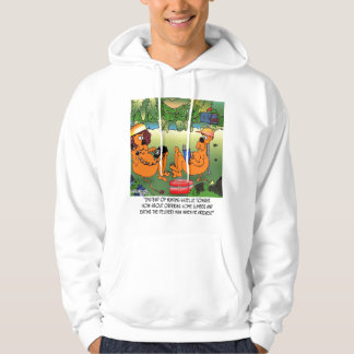 Eat Lumber Delivery Man Hooded Pullover