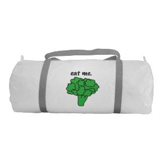 eat me. (broccoli) gym bag