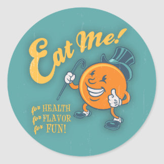 Eat Me! Classic Round Sticker