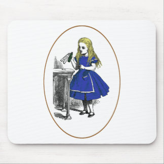 Eat Me, Drink Me Mouse Pad