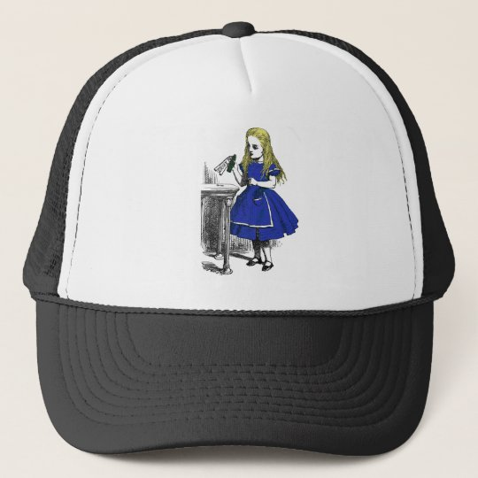 Eat Me, Drink Me Trucker Hat