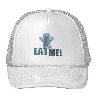EAT ME! Gingerbread Man - Blue Trucker Hat