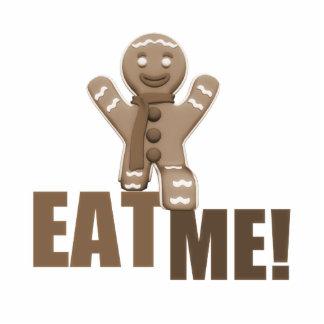 EAT ME! Gingerbread Man - Brown Sepia Statuette
