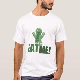 EAT ME! Gingerbread Man - Green T-Shirt