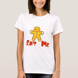 Eat me Gingerbread man Holiday Humor T-Shirt