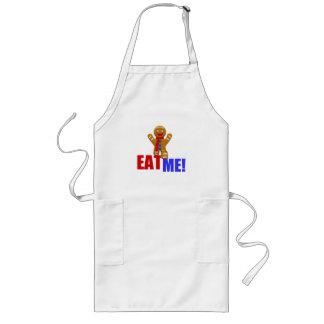 EAT ME! Gingerbread Man - Original Colors Aprons