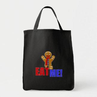 EAT ME! Gingerbread Man - Original Colors Tote Bag