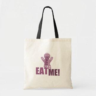 EAT ME! Gingerbread Man - Pink Bag