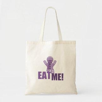 EAT ME! Gingerbread Man - Purple Bag