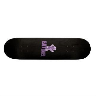 EAT ME Gingerbread Man - Purple Skateboard Deck
