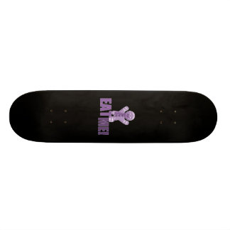 EAT ME! Gingerbread Man - Purple Skateboard Deck