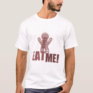 EAT ME! Gingerbread Man - Red T-Shirt