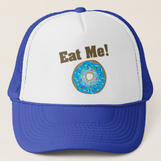 Eat Me! Hat- Blue Trucker Hat