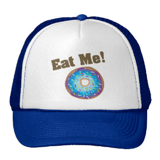 Eat Me! Hat -Purple/Blue