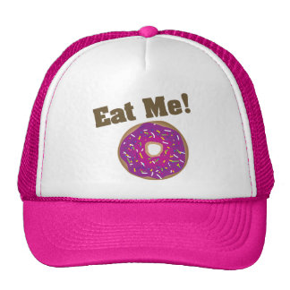 Eat Me! Hat -Purple/Pink