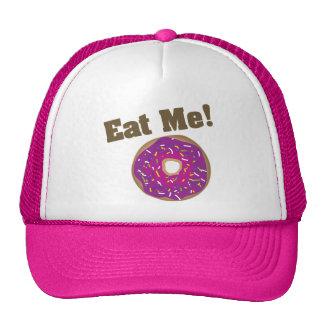 Eat Me! Hat -Purple/Pink