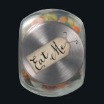 "Eat Me Jelly Belly™ Glass Jar<br><div class=""desc"">&quot;Eat Me&quot; Alice in Wonderland inspired Jelly Belly™ Glass Jar. Features a vintage paper tag perfect for parties,  events,  or Just Because.</div>"