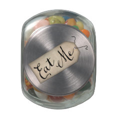 Eat Me Jelly Belly™ Glass Jar at Zazzle