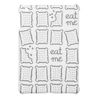 eat me monochrome cookies iPad mini covers