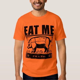 Eat Me Pig BBQ Tee