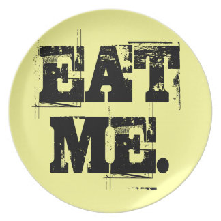 Eat Me. Plate