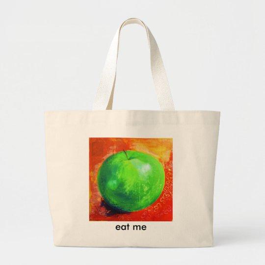 eat me shopping tote